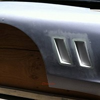 Angled Side Vents - pair