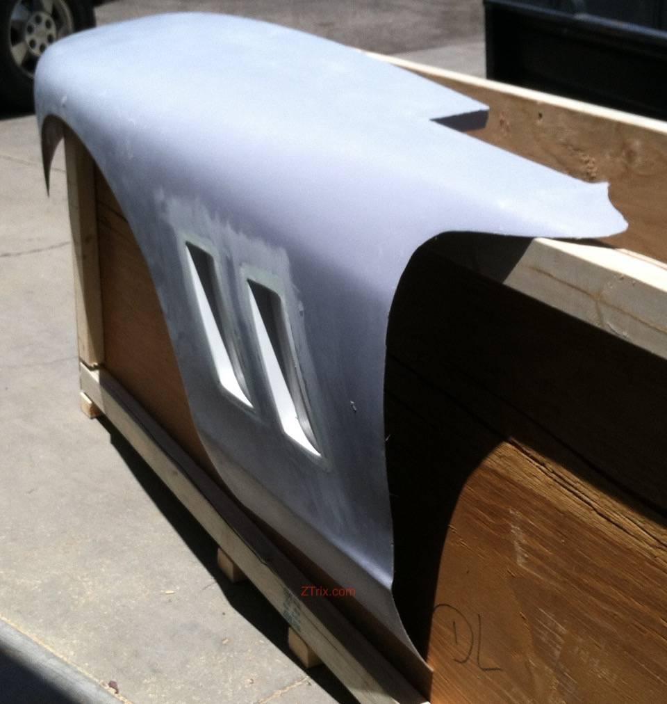 Z Spyder Side Vents - pair   Z Spyder   Convertible Kits   ZTrix
