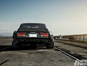1972 datsun 240z custom rear diffuser 09