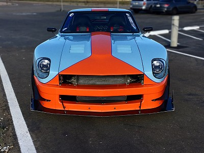 Rich Madlangbayans gulf 240z 280YZ front